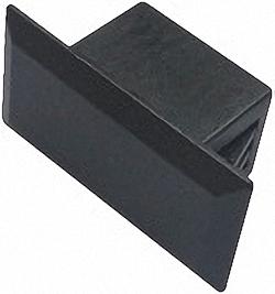 Dust Covers for Patch Panel Adaptor Slots LC duplex /  SC simplex, 100pcs. Bulk Pack