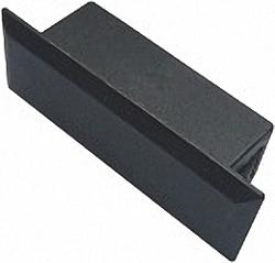 Dust Covers for Patch Panel Adaptor Slots LC quad / SC duplex, 100pcs. Bulk Pack