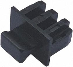 Schutzcover für ungenutzte SFP/SFP+-Slots, mit Griff, 100 Stück Großpackung