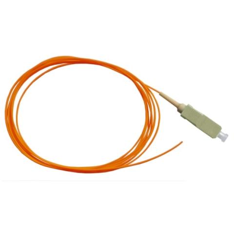 LWL Pigtail, OM2 50/125µm, SC/PC, orange 2m