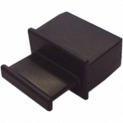 Dust Covers for unused QSFP and XFP Slots, with Handle, 100pcs. Bulk Pack