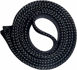 Separate reusable pulling sock with zipper for installation cables