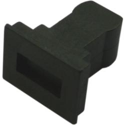 Dust Caps for SC Connector Jack, 100pcs.  Bulk Pack