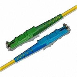 Fiber Optic Patch Cable Single-mode, Simplex, E2000/APC-E2000/PC