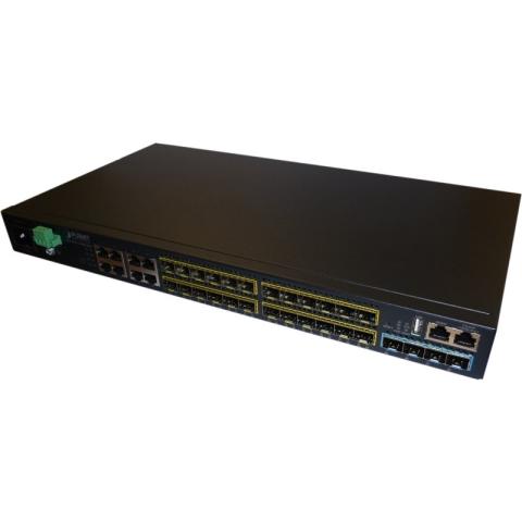 SGS-6341-16S8C4XR GE Switch 8x RJ45 (shared), 16x SFP, 4x 1G/10G SFP+ Port