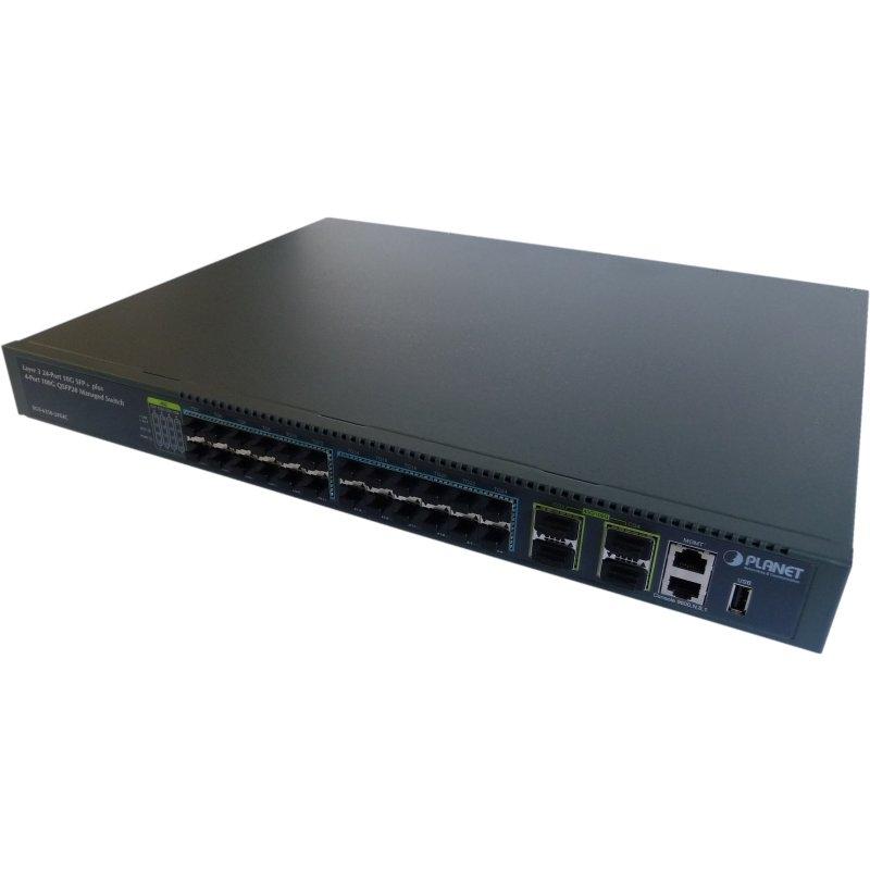 XGS-6350-24X4C GE Switch 24x 1G/10G SFP+, 4x 40G/100G QSFP28 Port