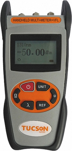 Multi-Tester Power-Meter,  Light Source and Visual Fault Locator