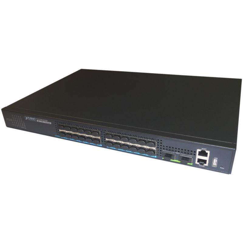 XGS-5240-24X2QR GE Switch 24x 1G/10G SFP+, 2x 40G QSFP+ Port, managed