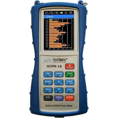 OCPM-18 Optical CWDM Power Meter to measure signal quality on optical fiber