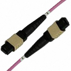 MTP/MPO Trunk-Kabel OM4 12-Core MTP(Female) zu MTP(Male), Polarit?t Typ B, NON-ELITE! , erika, 5 m