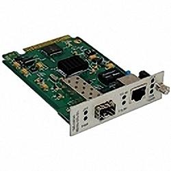 10/100/1000Base-T to SFP 1G Media Converter Slide-in Card