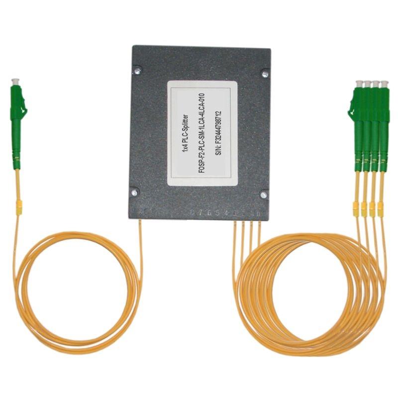 Fiber Optic PLC Splitter LC/APC - 4x LC/APC