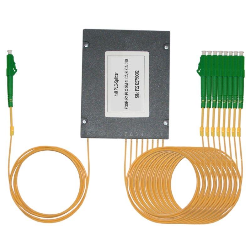Fiber Optic PLC Splitter LC/APC - 8x LC/APC