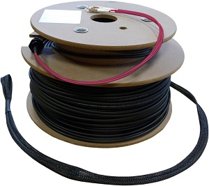 FO Loose Tube Outdoor Installation Cable OM4, 24-Core, LC/PC with Rodent Protection and Pulling-Eyes