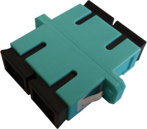 LWL-Adapter SC/PC, Duplex, Multimode OM3
