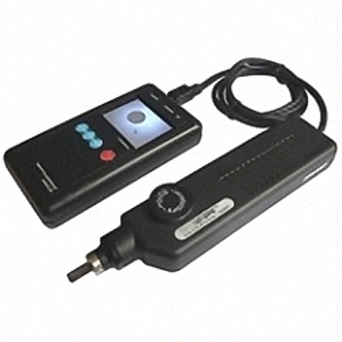 HUXScope-H Fasermikroskop Handheld mit externem Monitor...