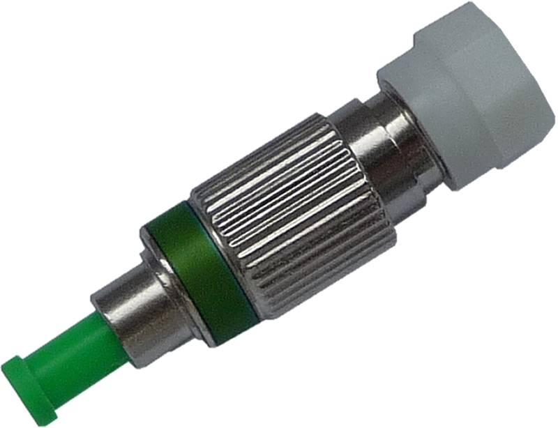 Fiber Adaptor FC/APC male - FC/PC female, Simplex, Single-mode