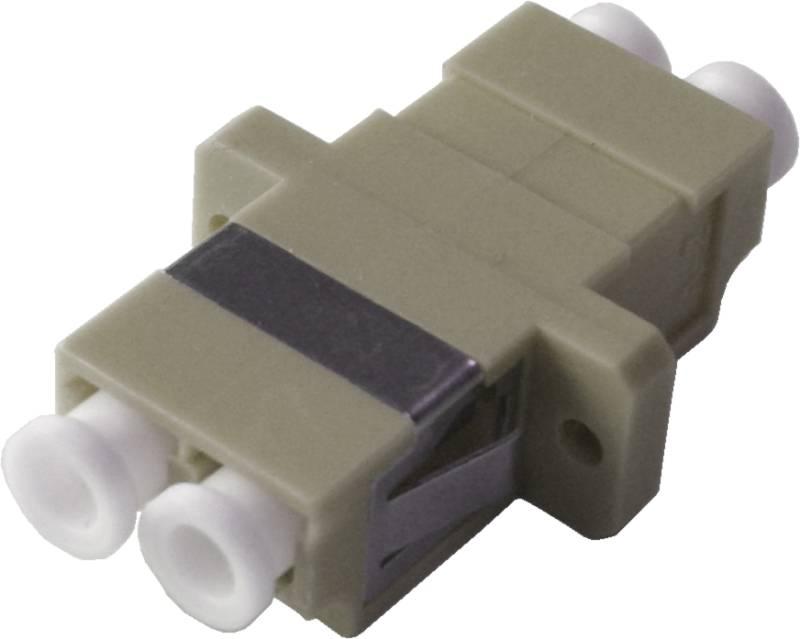 LWL-Adapter LC/PC, Duplex, Multimode OM2 für Patchfelder
