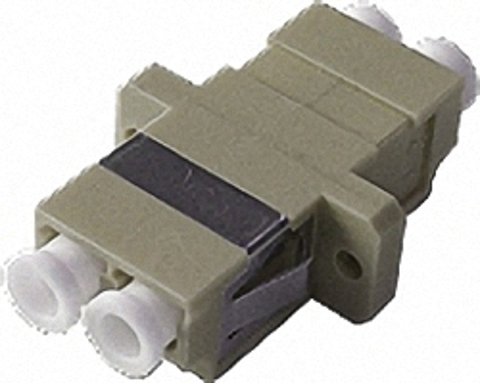 Fiber Adaptor LC/PC, Duplex, Multi-mode OM2 for Patch Panels