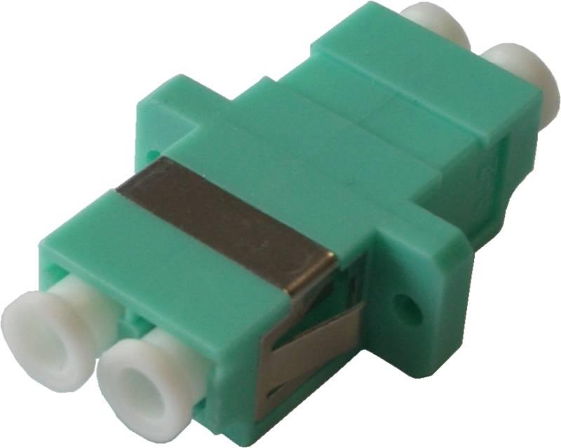 LWL-Adapter LC/PC, Duplex, Multimode OM3 für Patchfelder