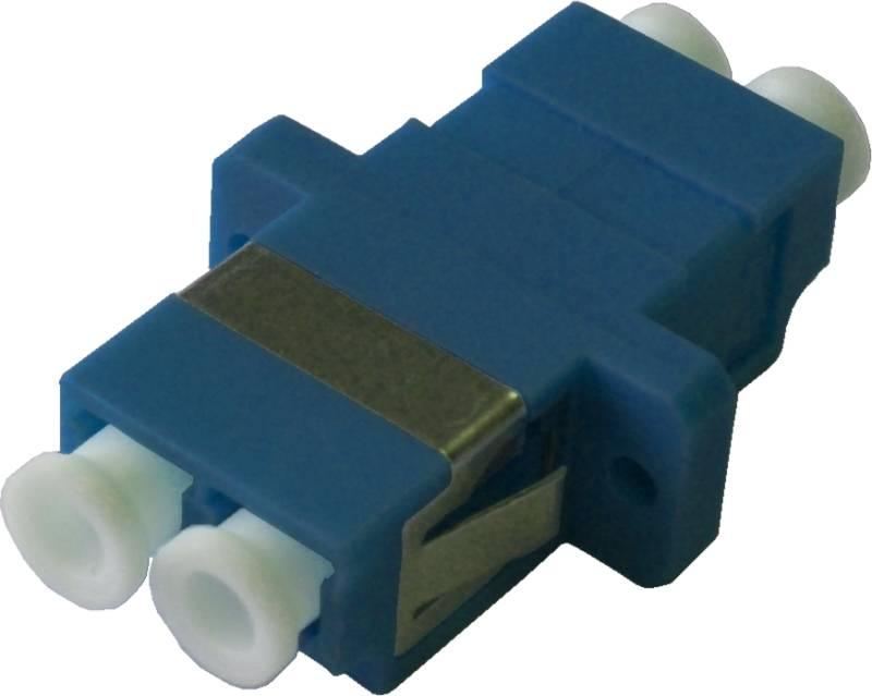 Fiber Adaptor LC/PC, Duplex, Single-mode for Patch Panels