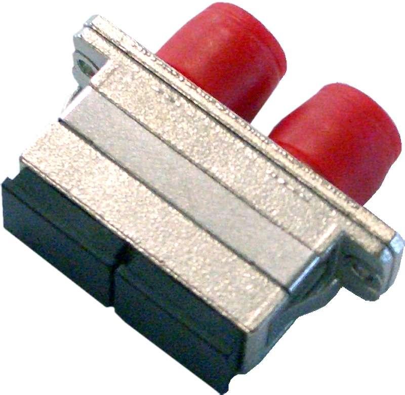 Fiber Adaptor SC/PC - FC/PC, Duplex, Single-mode/Multi-mode