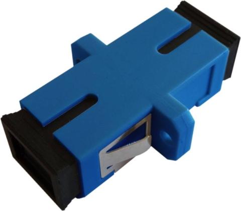 Fiber Adaptor SC/PC, Simplex, Single-mode