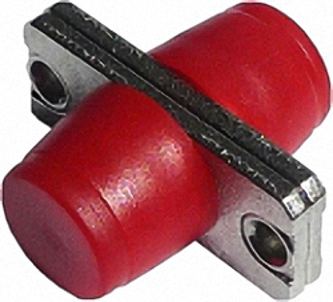 LWL-Adapter FC/PC, Simplex, Singlemode/Multimode mit Metallflansch