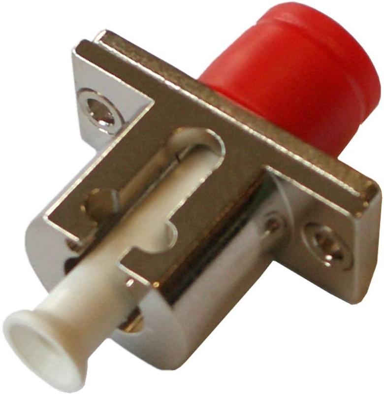 Fiber Adaptor LC/PC-FC/PC, Simplex, Single-mode/Multi-mode