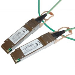 JL27xA compatible QSFP28 AOC Active Optical Cable