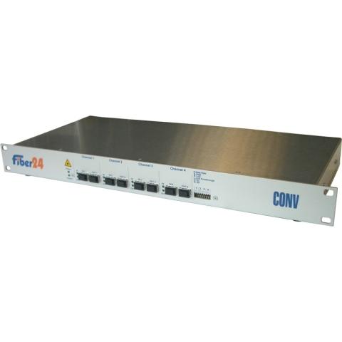SFP/SFP+ 4-Kanal Konverter für bis zu 10Gbps