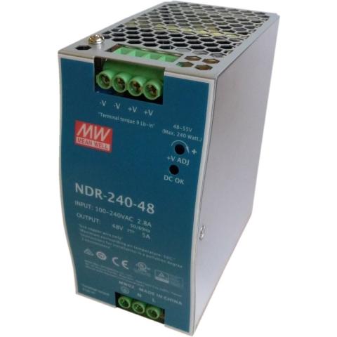 NDR-240-48 DIN-Rail Power supply 48V DC 240W