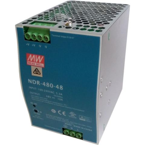 NDR-480-48 DIN-Rail Power supply 48V DC 480W