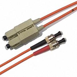 LWL Patchkabel OM2 Multimode 50/125µm, Duplex, SC/PC-ST/PC