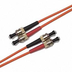 Fiber Optic Patch Cable OM2 Multi-mode 50/125µm, Duplex, ST/PC-ST/PC