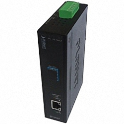 IXT-705AT Industrial DIN Rail 10G RJ45 to SFP+ Copper to Fiber Media Converter, 10GBase-T to 10GBase-X