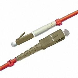 LWL Patchkabel OM2 Multimode 50/125µm, Simplex, LC/PC-SC/PC