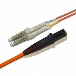 LWL Patchkabel OM2 Multimode 50/125µm, Duplex, LC/PC-MTRJ/PC