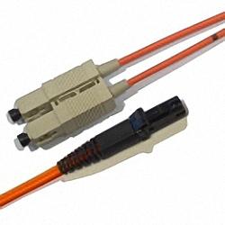 LWL Patchkabel OM2 Multimode 50/125µm, Duplex, SC/PC-MTRJ/PC