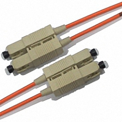 Fiber Optic Patch Cable OM2 Multi-mode 50/125µm, Duplex, SC/PC-SC/PC